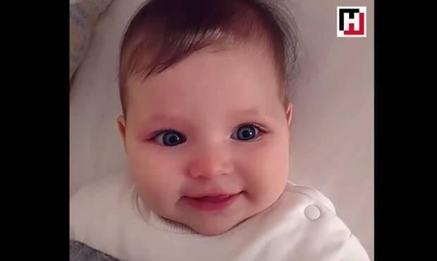 Minik Bilge muhteşem sevimli görüntüleriyle Instagram'ın fenomen bebeklerinden biri oldu...
