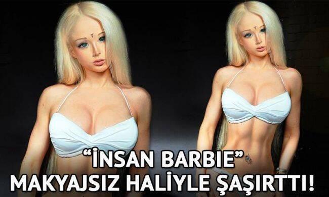Barbie bebek gerçek oldu! İşte, insan barbie...
