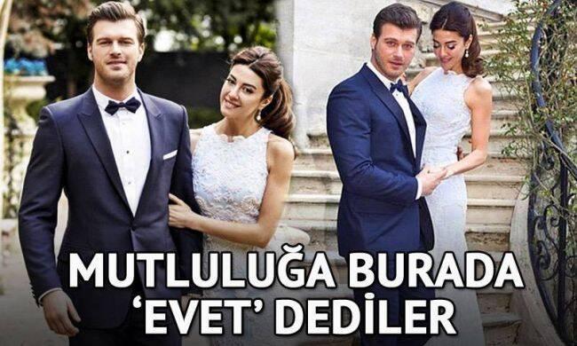 Ünlü çiftlerin düğün mekanları