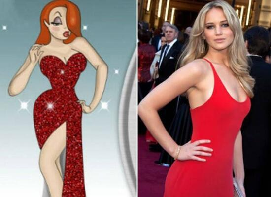 Jessica Rabbit - Jennifer Lawrence
