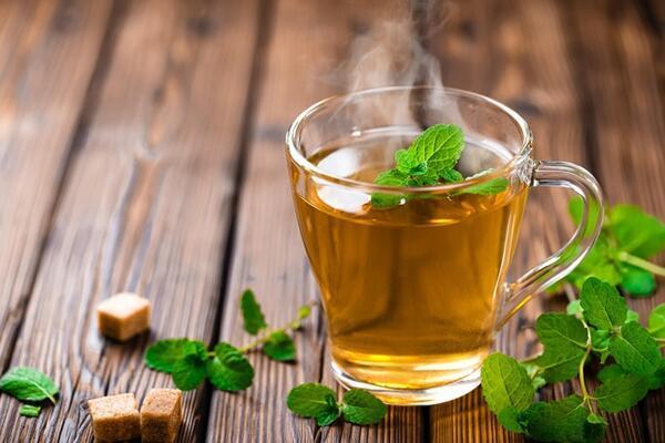 Zencefil, Kimyon, Nane ve Yeşil Çay Karışımı