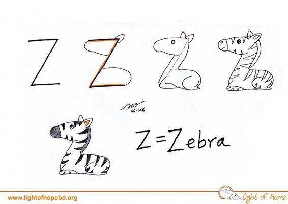 Adan Zye Harflerle Kolay Hayvan çizimleri Ebeveyn Foto Galerisi