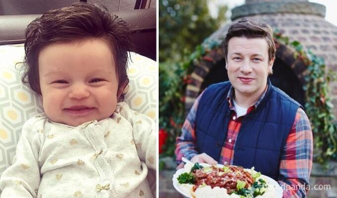 Minik Isabelle, Jamie Oliver kadar sempatik.