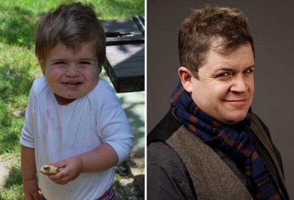 Patton Oswalt'a benzeyen bebek.