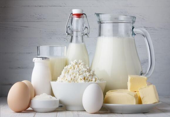 Süt ve süt ürünleri, kalsiyum içeren besinler