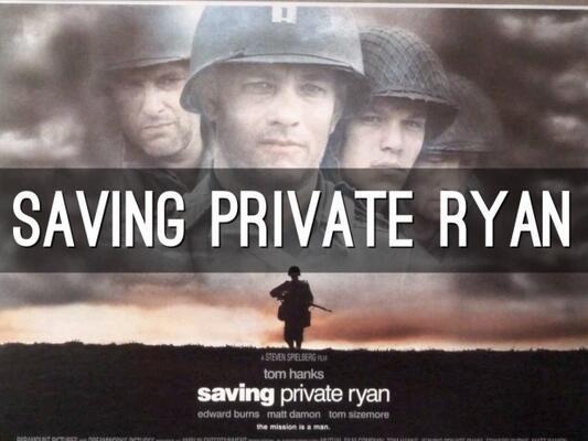 Saving Private Ryan (Er Ryan'ı Kurtarmak)