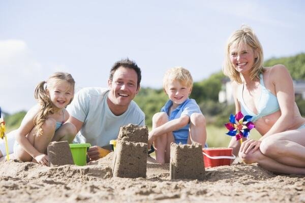İşte çocuklar için plaj aktiviteleri
