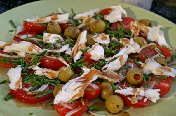 Her mevsim Akdeniz tipi beslenin