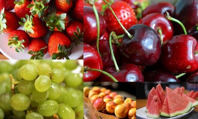 Yaz meyveleri ile yaşlanmaya dur deyin