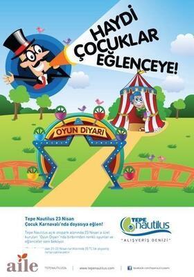 """Tepe Nautilus """"23 Nisan Çocuk Karnavalı"""""""