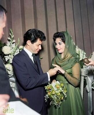 Elizabeth Taylor ve Eddie Fisher
