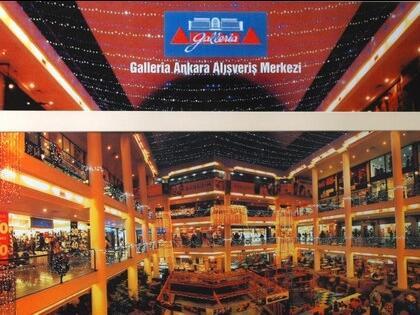 Ankara'nın Alışveriş Merkezi Galleria