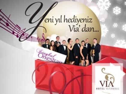 Yeni Yıla Via Hotel'de Girin!