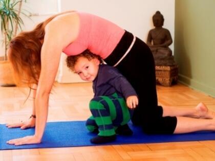 Anne ve Bebeklere Özel Yoga!