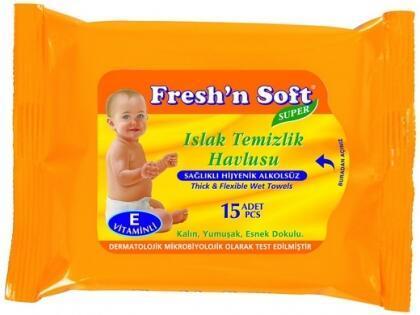Çantaların Vazgeçilmezi Fresh'n Soft!