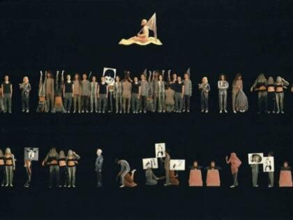 İnci Eviner'in Sergisi Paris'te…