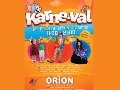 Orion'dan Çocuklara Karnaval