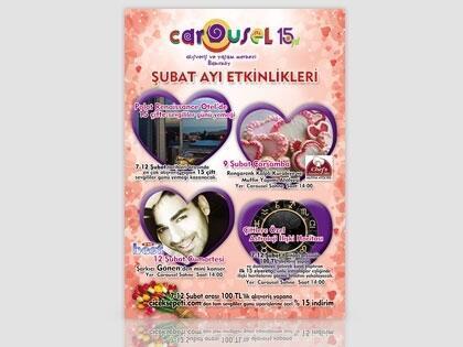 """Carousel'de """"Sevgililer Günü"""" Haftası"""