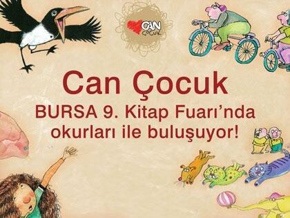 Can Çocuk Bursa 9. Kitap Fuarı