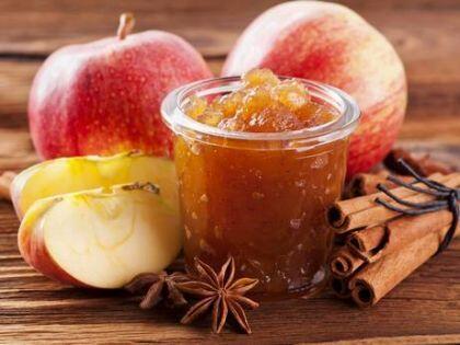 Diyet elma marmeladı tarifi