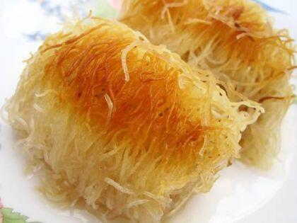 Dil peynirli tel kadayıf böreği tarifi
