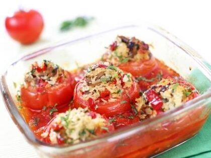 Zeytinyağlı domates dolması tarifi