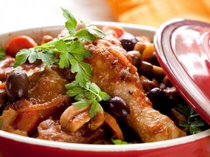 Sebzeli tavuk güveci tarifi