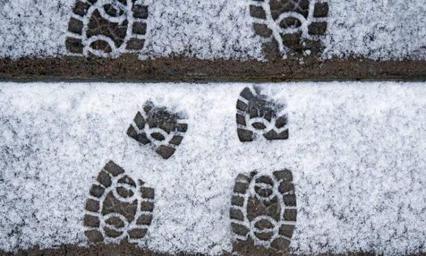 Karda ve buzda yürümenin püf noktaları