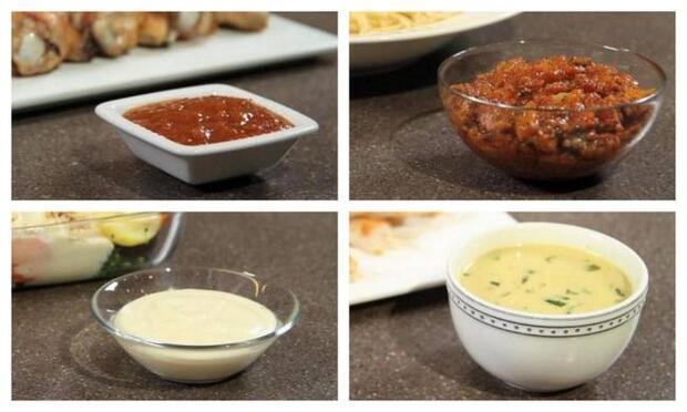 Evde kolayca hazırlayabileceğiniz sos tarifleri