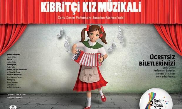 """""""Kibritçi Kız Müzikali""""  eğlenceye davet ediyor"""