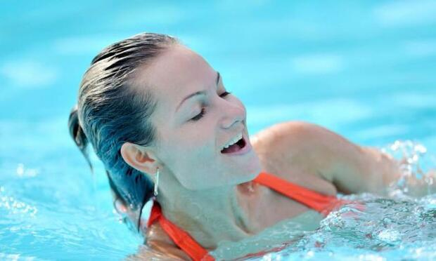 Yavaş yüzmeye ve iyi nefes almaya dikkat edin!