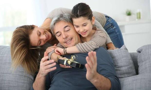 Kişisel bakımına özen gösteren babalar için...