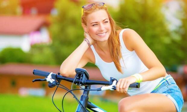 Bu yaz bisiklet sürerek zayıflayın!