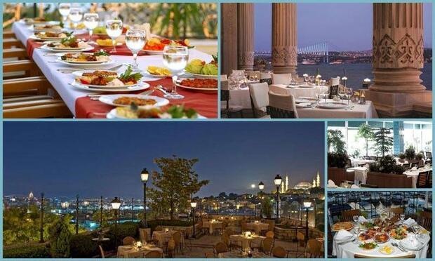 İstanbul'da en iyi iftar yapılacak 10 restoran