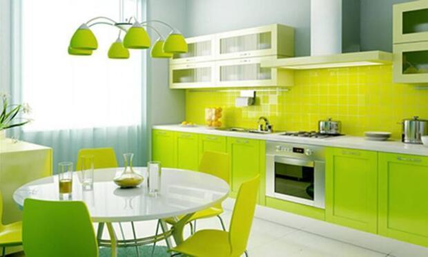 Rengarenk mutfaklar için dekorasyon önerileri