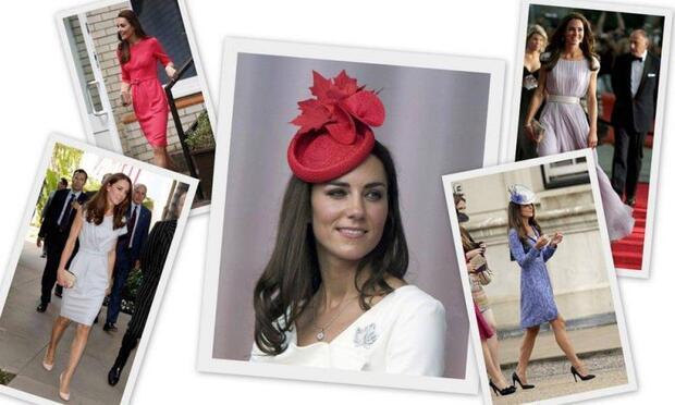 Kate Middleton tarzı ile büyülüyor!