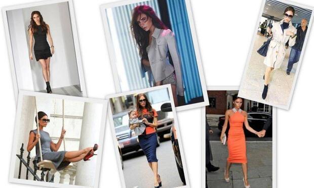 Stiliyle kadınlara ilham veriyor: Victoria Beckham