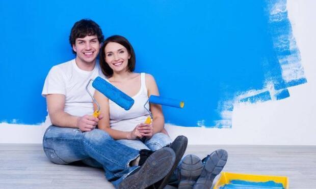 Kilo almamak için mutfakta mavi rengi kullanın