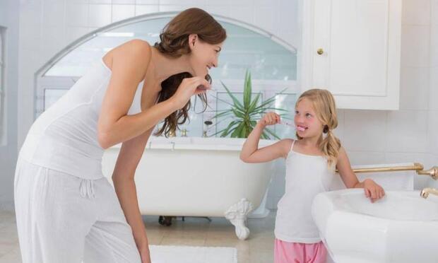 Çocuklu aileler için banyo dekorasyonu