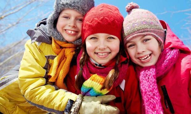 Çocuğunuz kışın da sokakta oynasın!