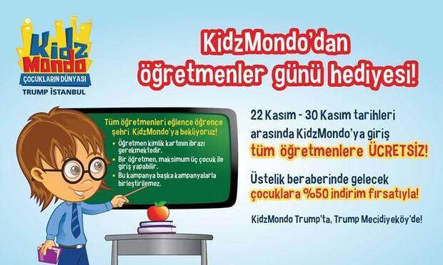 KidzMondo'dan öğretmenlere hediye!