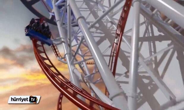 Dünyanın en büksek Roller Coaster'ı