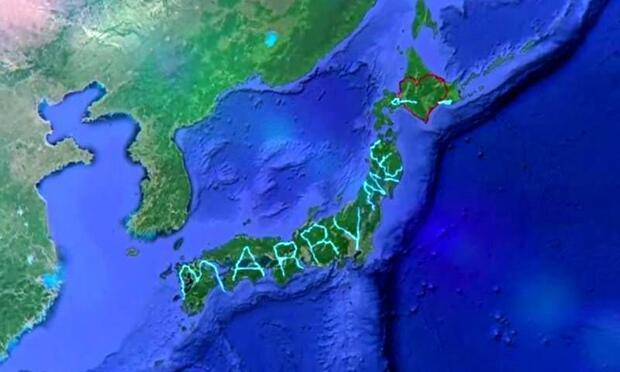 Evlilik teklifi etmek için 7 bin kilometre yürüdü!