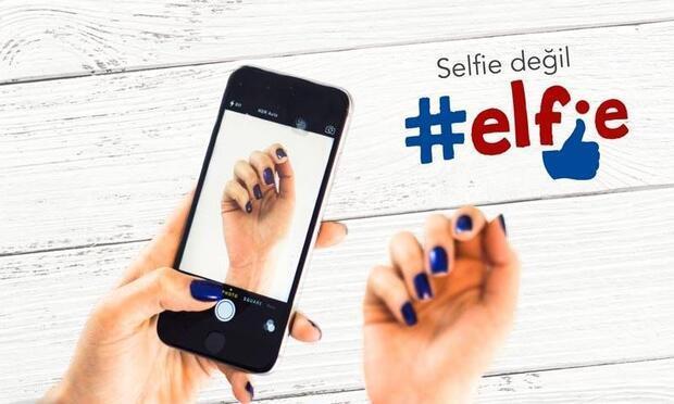 Artık selfie değil elfie zamanı