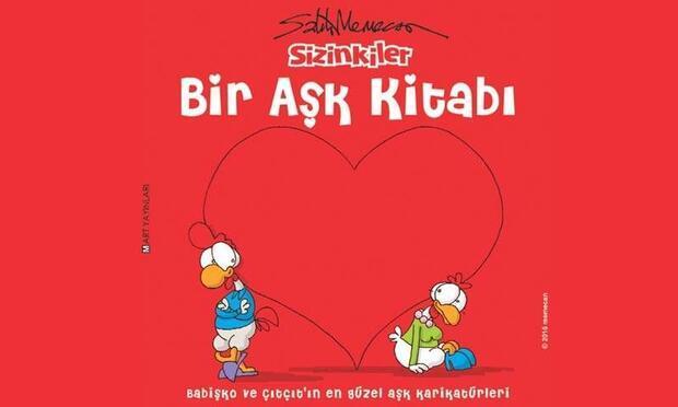 Limon ile Zeytin'den aşk dolu bir kitap!