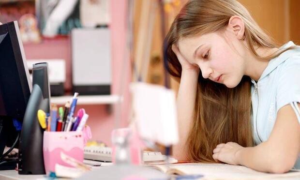 Çocuğunuz kitap okurken başını hareket ettiriyor mu?