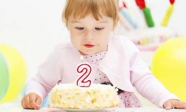 2 yaş için doğum günü pastaları