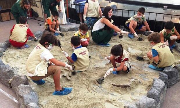 Dinozorların dünyasını Optimumlarda keşfedin!