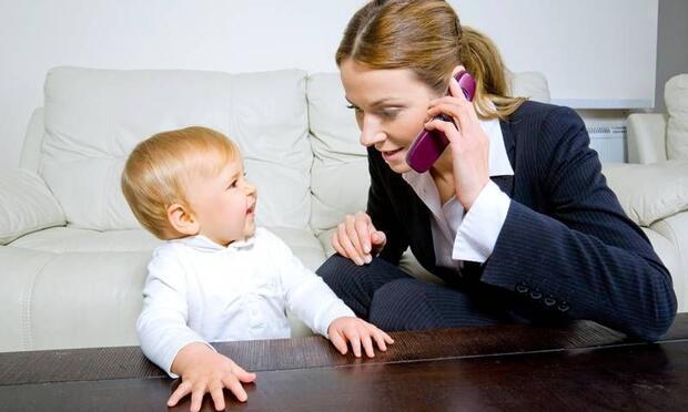 ''İşe başladım, bebeğim benden uzaklaşır mı?''