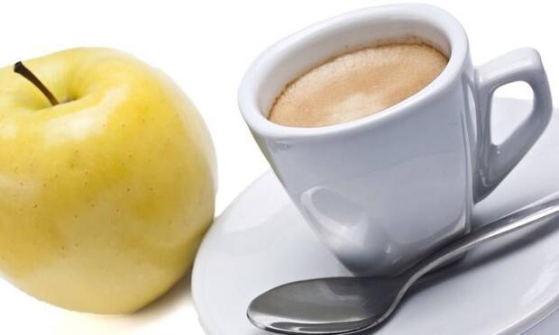 Elma ve kahve kanser riskini azaltıyor!